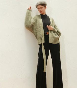 秋冬毛衣搭配图鉴 例格女装独特且高雅