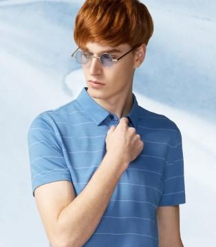 步森男装:相信会穿条纹衫的男人 魅力都不会差