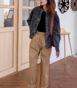 银轩牛仔服饰 时尚牛仔外套 风格由你随意切换
