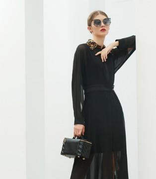 例格:早秋高级小黑裙 时尚气质且优雅