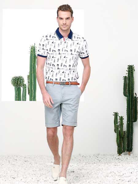 富绅春夏潮品T恤 搞定男士每日的穿搭
