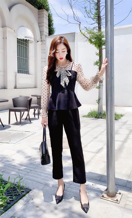 轻奢时尚姐姐穿搭 芊伊朵探索知性自信生活