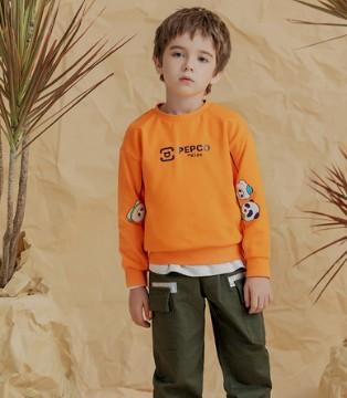 秋冬温暖阳光男孩 小猪班纳新品卫衣极其养眼