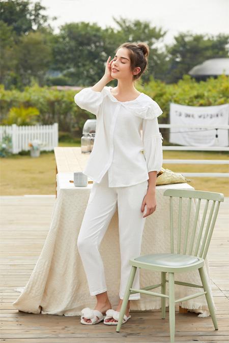 可爱甜美纯棉家居服 是你的高颜值亲闺密语呀!