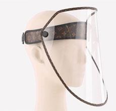 时尚与防疫结合 LV推出脸部防护罩