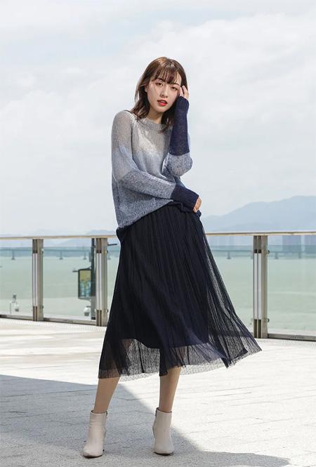 拍普儿:玩转秋日时尚  紧跟潮流的风