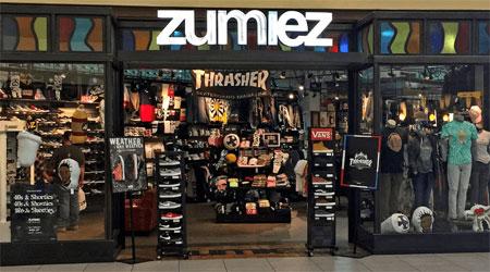 Zumiez在二季度中逆�u �翡N售�~增�L9.6%