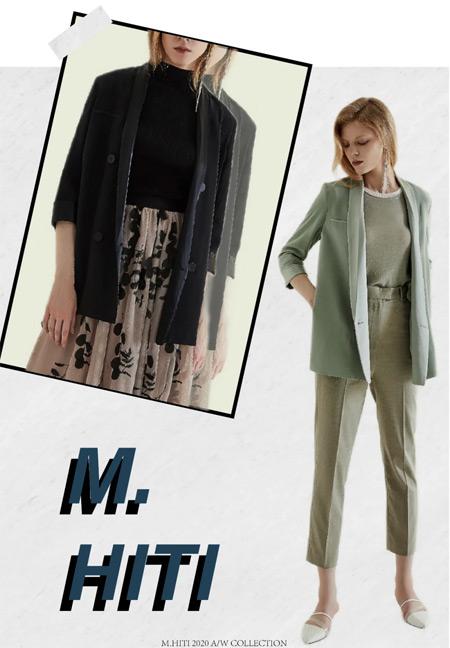 MYMO & M.HITI  时尚 独特 这才是职场穿搭的态度