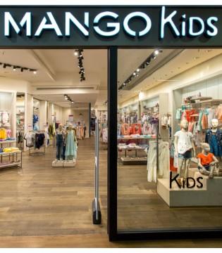 复苏良好的Mango品牌进一步拓展了其童装产品系列