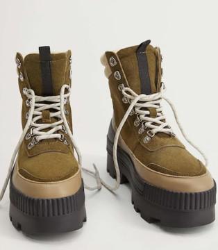 秋冬穿搭怎能没有皮靴?MANGO赋予你满满摩登都市感