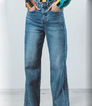 奕色秋季牛仔裤了解一下 复古风装扮你的衣橱!