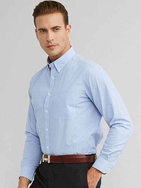 富绅男士服装独树一帜的色彩选择 让商务衬衣变得鲜活起来