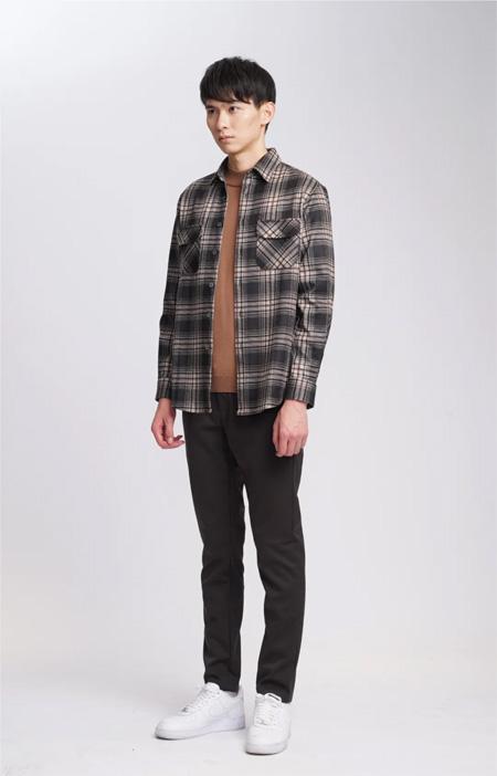 ALT男装:秋天的首一套穿搭 和生活好好交谈