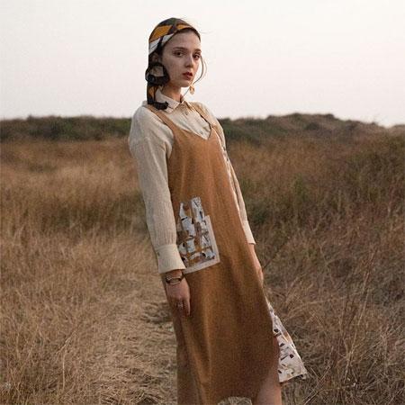 当浪漫的秋天遇上薇薇希女装 便是高级与优雅的代名词