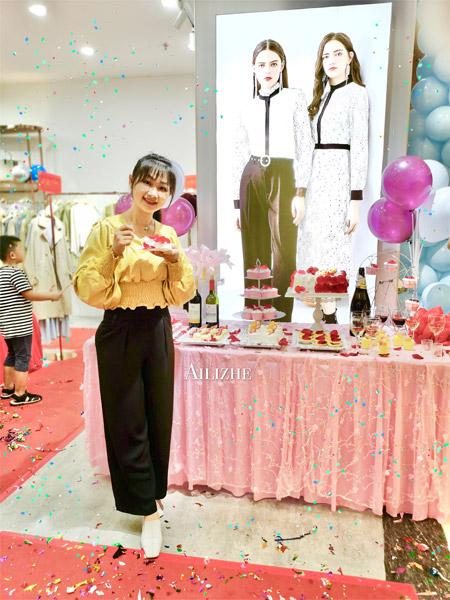 热烈祝贺艾丽哲广东湛江新店隆重开业啦!