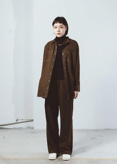 LE SERBIE冬装上新 2021的流行色系大衣