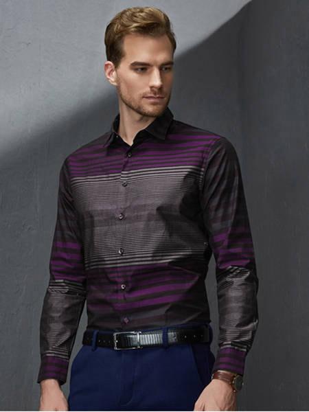绅士风度浪漫 富绅秋季衬衫高贵又奢华