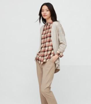 优衣库:2020秋冬复古格纹衬衫系列 休闲之余满是气质