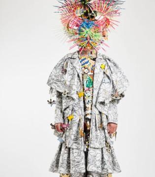 先锋设计师Tom Van der Borght获耶尔艺术节时尚大奖