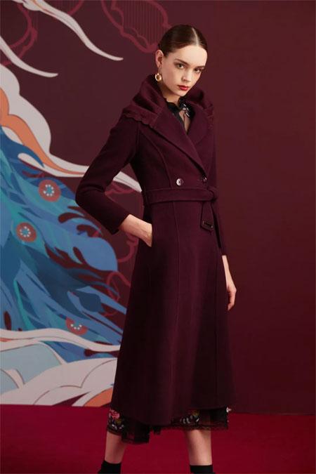 SUSSI古色 大衣 要穿出女王的气势