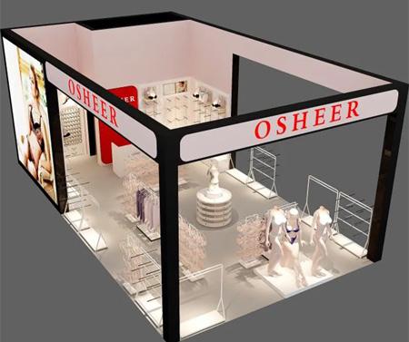 OSHEER亮相中国(虎门)国际服装交易会!