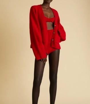 舒适与欢乐 假日着装 Khaite针织毛衣系列轻奢登场