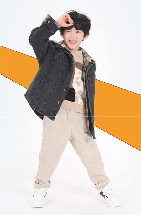 YISHION以纯儿童 酷男孩的冬季混搭指南