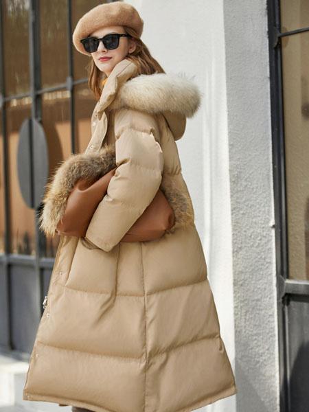 爱依莲时尚气质羽绒服系列 寻找别致的秋冬情调