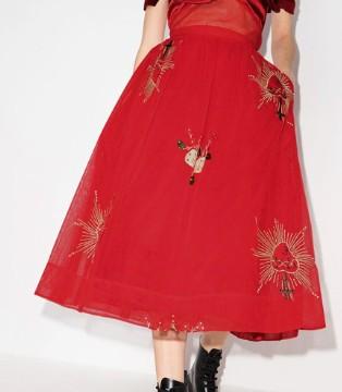 Simone Rocha 素净古言女主出场 演绎超现代时尚