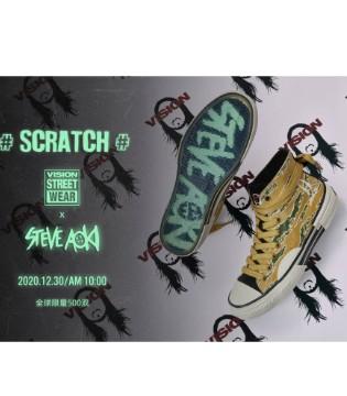 全球限量联名鞋款 #SCRATCH# 正式发售