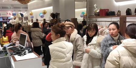 元旦在即 留刻女装迎来贵州毕节新店 祝开业大吉!