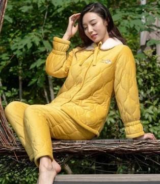 欧林雅时尚保暖居家服来袭 元旦宅家也要暖暖哒