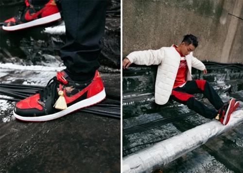 Nike、Converse和jordan brand的牛年系列