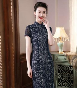 旗袍古典优雅赏析 唐雅阁与你摇曳生姿、气质佳人