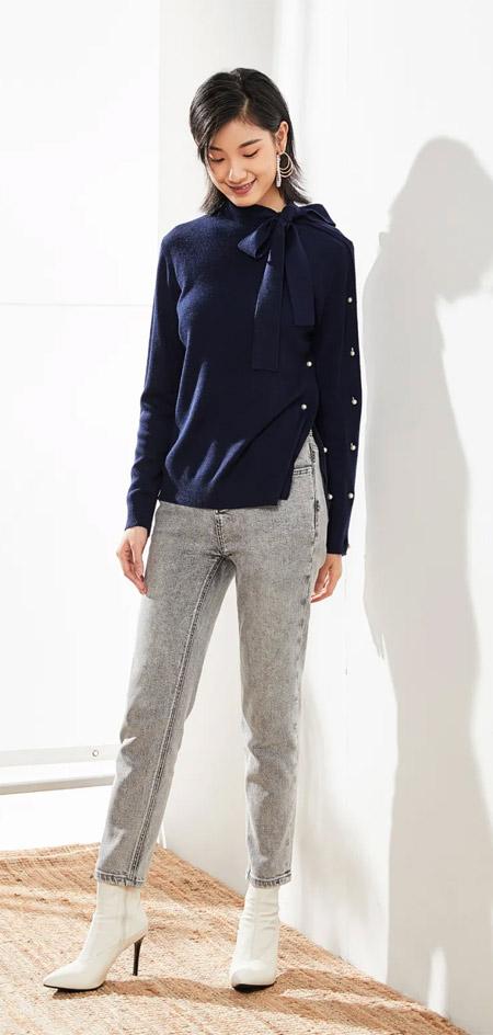 朗黛MYMO 这样的裤装让你又美又飒 冬季新品上市