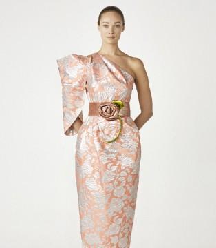Khoon Hooi2021�A���Y裙系列 勾勒春天又一幅如花��卷