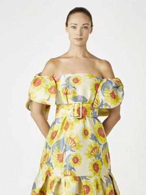 Khoon Hooi2021华丽礼裙系列 勾勒春天又一幅如花画卷