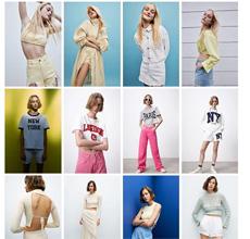 ZARA 春色染上你的新衣 春季新品上市