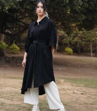 姐妹的黑白系穿搭 黑白的表达纯粹又清晰