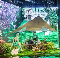 PRADA OUTDOOR春日篇:意趣花园 创意零售空间