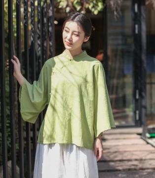阳光下的传统美好 照本堂弘扬棉麻文艺时尚