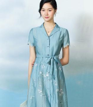 渔FISHING 衬衫裙Shirt dress 初夏的快乐密码