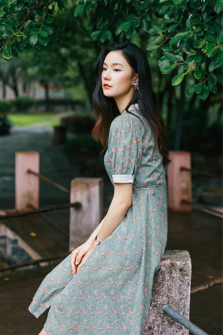�OFISHING �r衫裙Shirt dress 初夏的快�访艽a