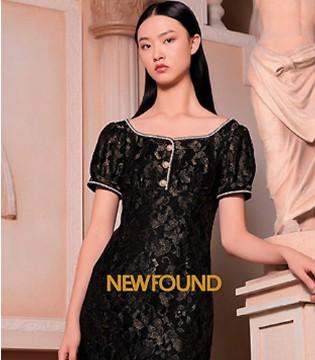 纽方春夏新品 穿着美丽的服饰艳压群芳