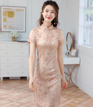 唐雅阁夏季新品 中华传统的旗袍之美