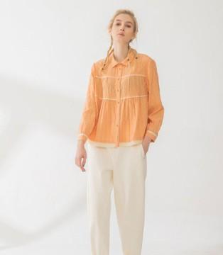 橘色系服饰 庄玛带给你一个橘色春夏