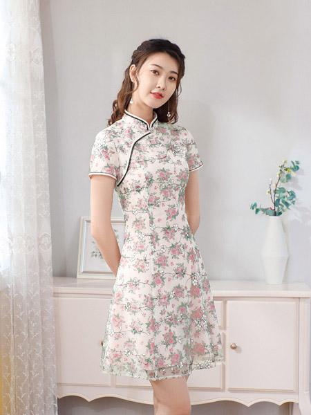 唐雅阁夏日旗袍 绽放古典的东方韵味!