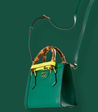 Gucci Diana竹�手袋全新系列 �典�鞒�
