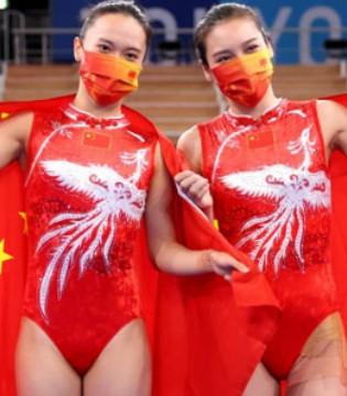 竞技与艺术交织 东京奥运会体操赛场上的服饰之美