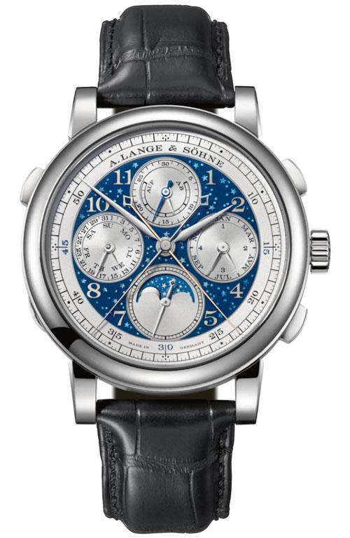 卓越的制表工艺成就朗格钟表百年盛誉